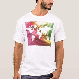 T-shirt Monde coloré