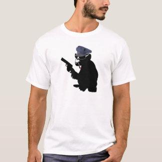 T-shirt monkey police
