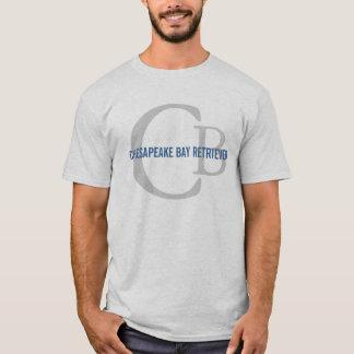 T-shirt Monogramme de Retriever de la Baie de Chesapeake