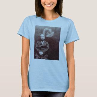 T-shirt Monsieur Arthur Conan Doyle avec le fantôme par