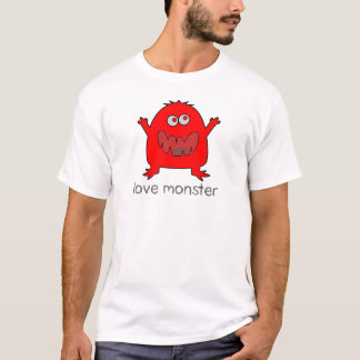 T-shirt monstre d'amour