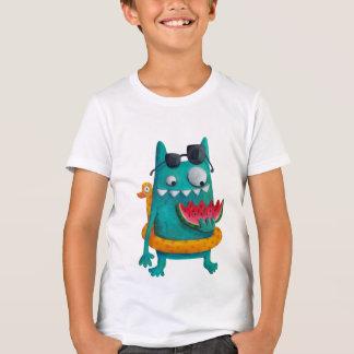 T-shirt Monstre de plage d'été