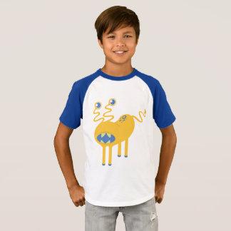T-shirt Monstre drôle de saucisse de l'espace