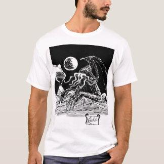 T-shirt monstre marin