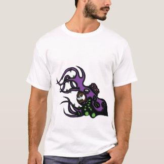 T-shirt Monstre pourpre T