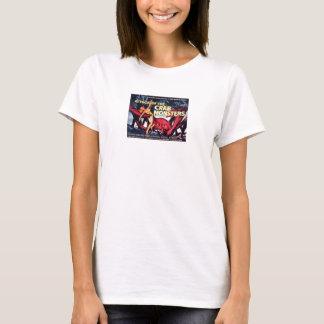 T-shirt Monstres de crabe de matinée de la science fiction