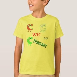 T-shirt monstres idiots de popart - nous ainsi la Hongrie
