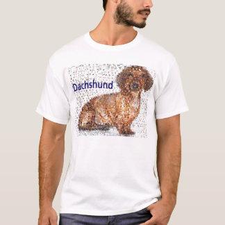T-shirt Montage extraordinaire de chien de teckel
