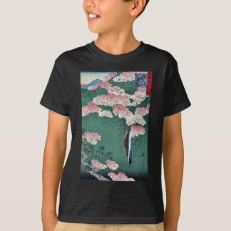 T-shirt Montagne de Yoshino par Utagawa, Hiroshige