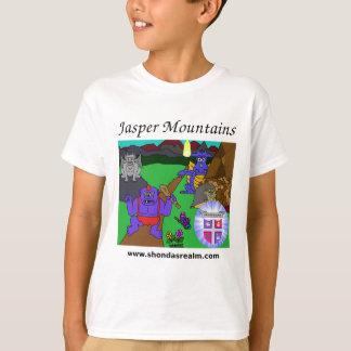 T-shirt Montagnes de jaspe du royaume de Shonda