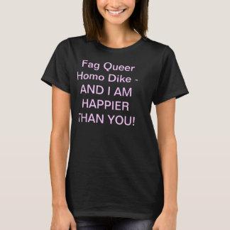 T-shirt Montrez la fierté lesbienne et le sénateur un