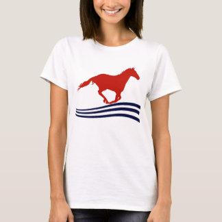 T-shirt Montrez le cheval