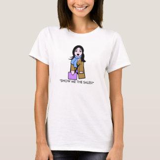T-shirt Montrez-moi les ventes