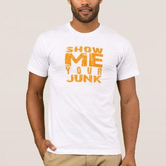 T-shirt Montrez-moi votre ordure