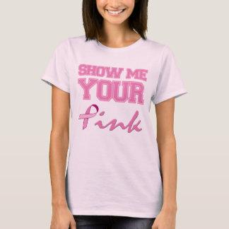 T-shirt Montrez-moi votre rose