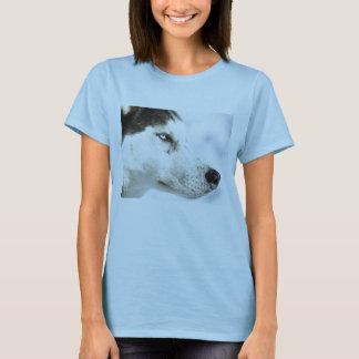 T-shirt Montrez votre amour pour votre chien de traîneau