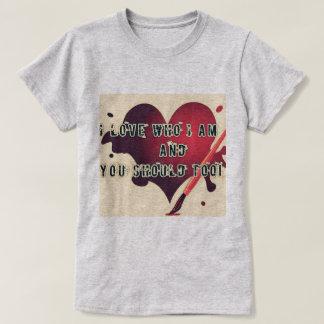 T-shirt Montrez-vous l'amour vous-même