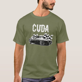 T-shirt Mopar - Plymouth Cuda - Barracuda