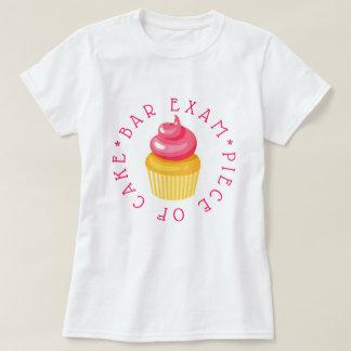 T-shirt Morceau d'examen de barre de gâteau