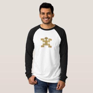 T-shirt Morceau précolombien pectoral d'or