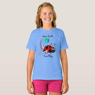 T-shirt Mordu par l'insecte de voyage - avion de