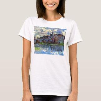 T-shirt Moret-sur-Loing par Alfred Sisley