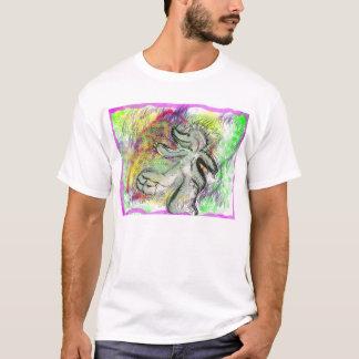 T-shirt Morse acide de rhinocéros d'éléphant