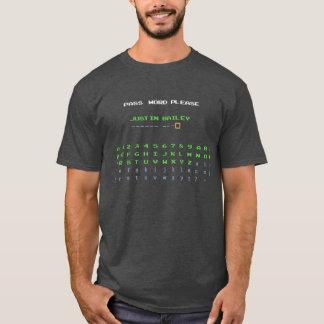 T-shirt Mot de passe de Justin Bailey