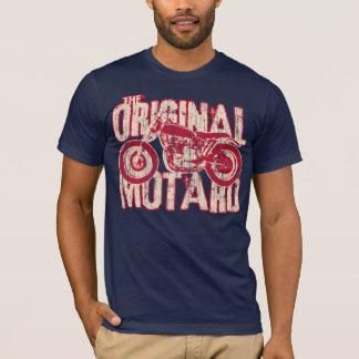 T-shirt Motard original (rouge vintage et crm)