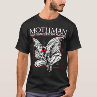 T-shirt Mothman : La légende du point agréable