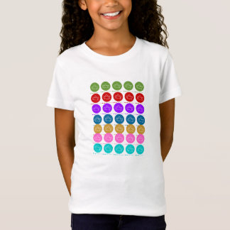 T-Shirt Motif 7x5 coloré de constellation de #1 SevenSTAR