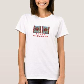 T-shirt Motif CANADIEN FIER de FEUILLE d'ÉRABLE