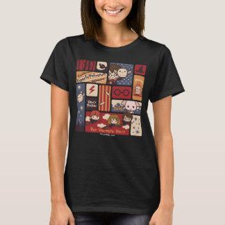 T-shirt Motif de scènes de bande dessinée de Harry Potter