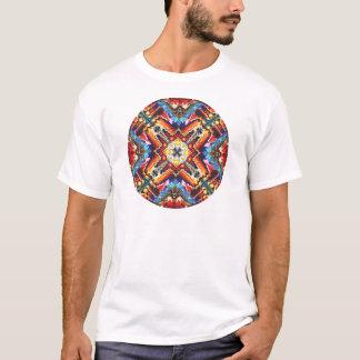 T-shirt Motif tribal coloré