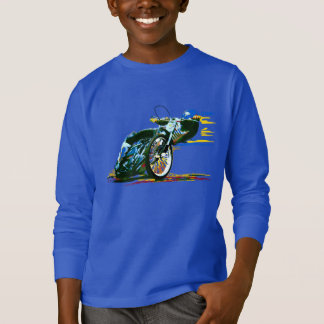 T-shirt Moto impressionnante rapide de speed-way