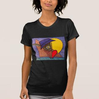T-shirt Mouche d'écoulement d'oeil de lune