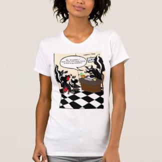 T-shirt Mouffette apprenant les cadeaux et le tee - shirt