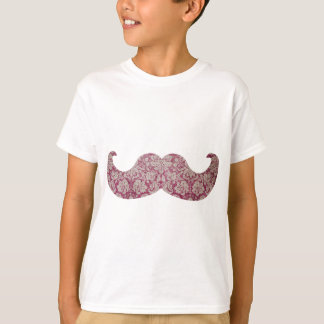 T-shirt Moustache de fantaisie
