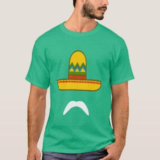 T-shirt Moustache de sombrero