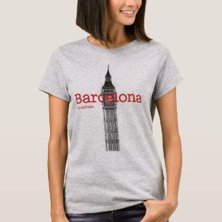 T-shirt Mstake de Barcelone et de Londres