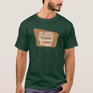 T-shirt Mt. réserve forestière de Boulanger-Snoqualmie