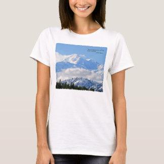 T-shirt Mtns sont appeler/Mt McKinley