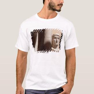 T-shirt Musée de capitol, visage de buste d'empereur