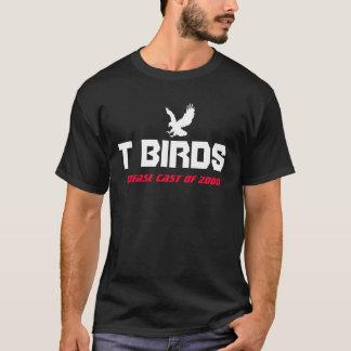 T-shirt musical de graisse : T-Oiseaux