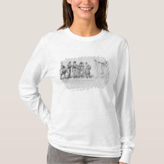 T-shirt Musiciens de rue de Londres, c.1820-30