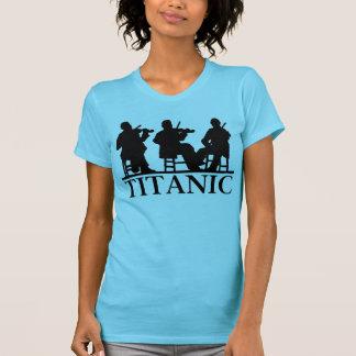 T-shirt Musiciens de Titanic