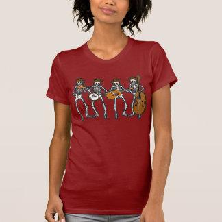 T-shirt Musique country jouant des squelettes