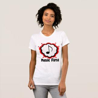 T-shirt Musique d'abord