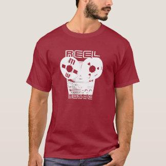 T-shirt Musique de bobine