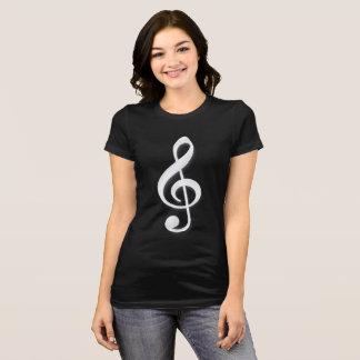 T-shirt Musique de clef triple